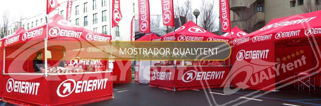 Balcao para tendas dobraveis Premium Qualytent