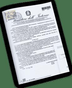 Certificado de resistência ao fogo