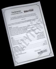 Declaração de produto da diretiva europeia