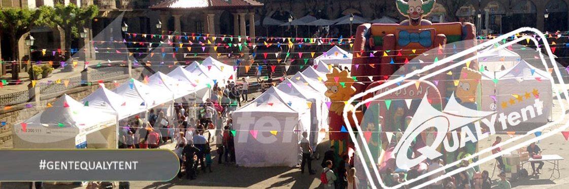 Montagem modular de tendas dobráveis Premium 3x3m para feiras