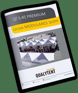 Montagem modular tendas 3x3m