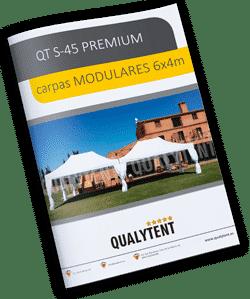 Montagem modular tendas 4x6m