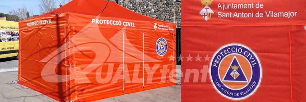 Posto avançado de saúde da Proteção Civil de Sant Antoni de Vilamajor