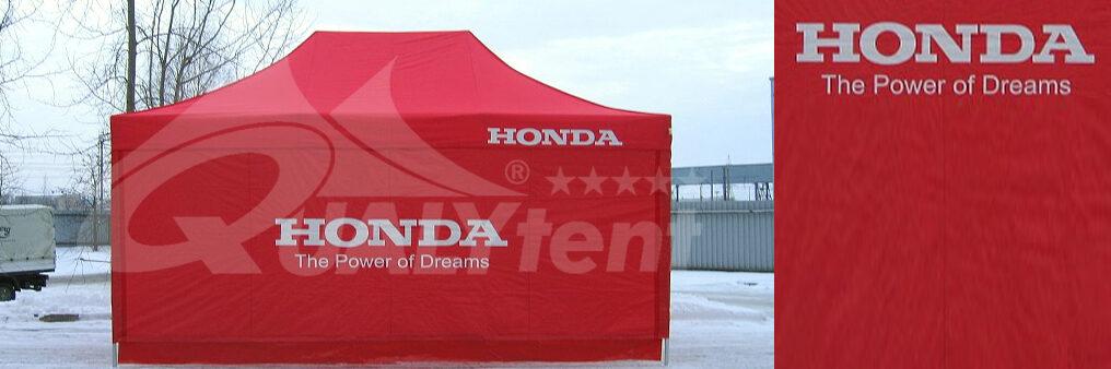 Tenda dobrável de 4x6m personalizada para Honda