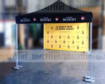Tenda personalizada Licor Beirão, tenda dobrável 3x3m