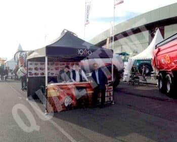 Tenda personalizada para Juscafresa, tendas para eventos