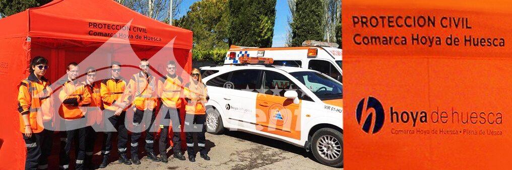 Tendas dobráveis para proteção civil de Huesca, tendas de resgate 3x3m
