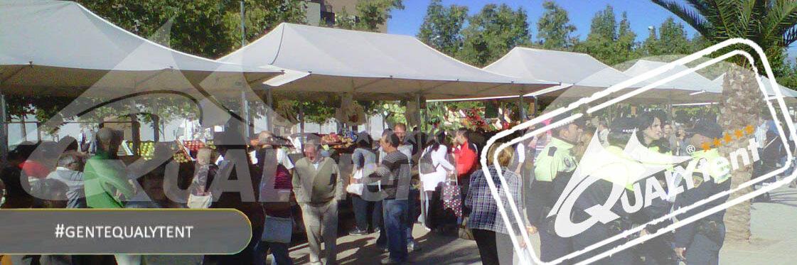 Tendas dobráveis para venda de rua e mercados