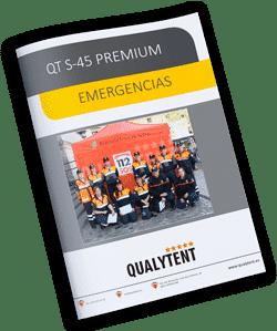 Tendas dobráveis Rescue Qualytent