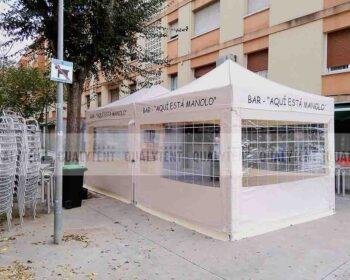 Tendas dobráveis para esplanadas. Proteja os seus clientes do frio, chuva ou do sol com as nossas tendas dobráveis de qualidade.