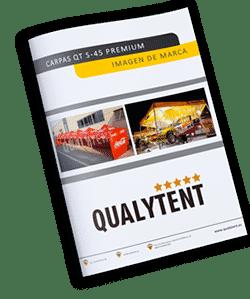 Tendas dobráveis para empresas QT S-45 Premium