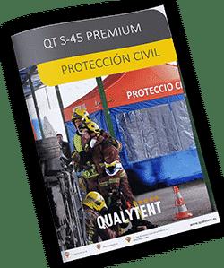 Tendas dobráveis para equipas de emegência