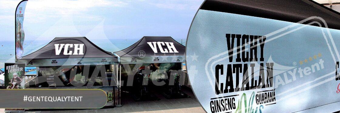Tendas full print de 4.5x3m para Vichy Catalan