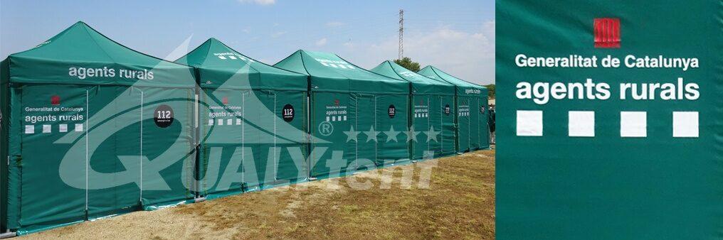 Tendas personalizadas para agentes rurais, tendas para posto de comando avançado