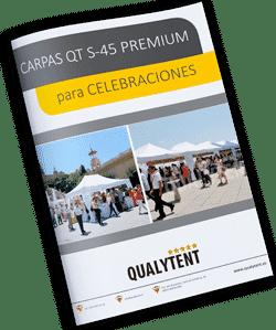 tendas dobráveis para celebrações Qualytent
