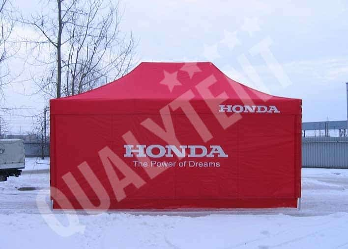 Tenda personalizada Honda, tendas de 6x4m