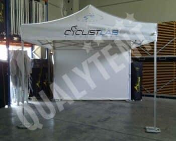 Tenda estampada para Cyclistlab, tendas dobráveis de 3x3m