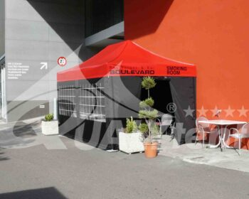 Tendas smoking room de 4.5x3m QT S-45 Premium