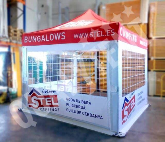 Tenda digital para Stel Campings de 3x3m