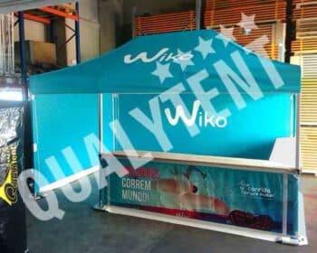 Tenda dobravel estampada full print para Wiko de 3x3m