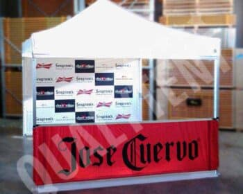 Tenda full print José Cuervo de 3x3m