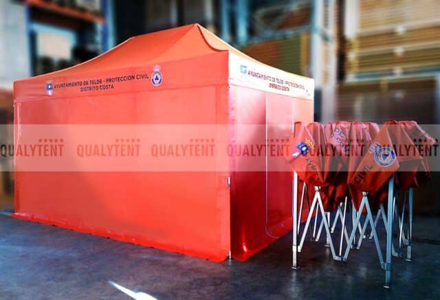 Tendas Rescue Protección Civil Telde
