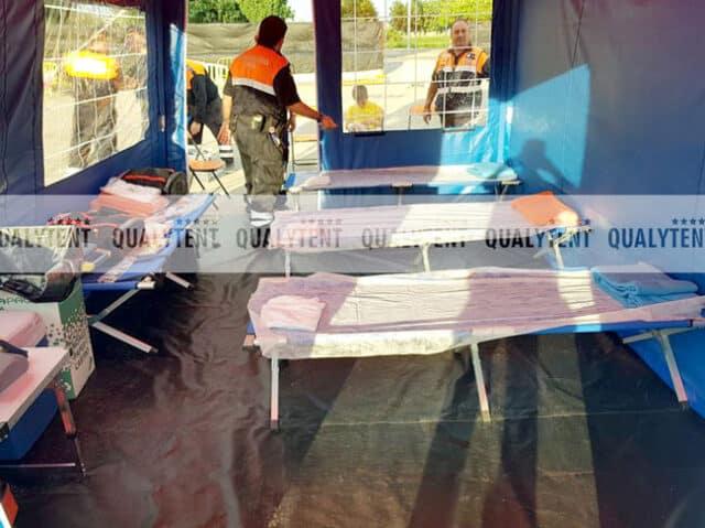 Tendas para hospital de campanha QT S-45 Rescue
