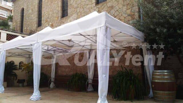 As nossas elegantes tendas de 3x3m Premium