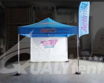 Tenda 3x3m rotulada Actimel Premium