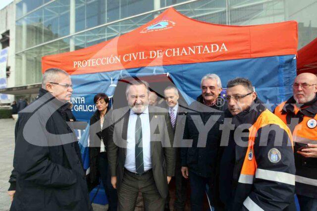 Tendas dobráveis Rescue para Proteção Civil