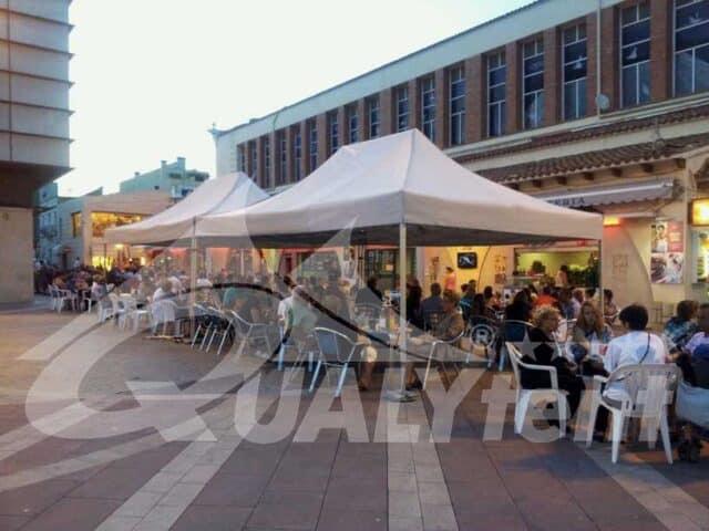 Tendas para esplanadas da Qualytent
