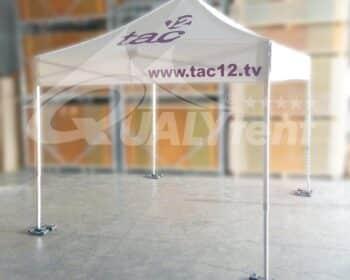 tenda rotulada 3x3 Qualytent
